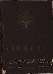 viertei jahresschrift des instituts für deutsche ostarbeit krakau