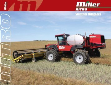Swather Adaptors - Miller STN