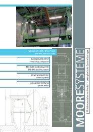 Hydraulische BIG-BAG Presse - MOORE SYSTEME