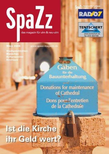 Ist die Kirche ihr Geld wert? - KSM Verlag