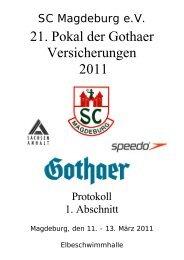 21. Pokal der Gothaer Versicherungen 2011 - 1dsg.de