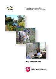 Jahresbericht 2007 des NLWKN - Niedersächsischer Landesbetrieb ...