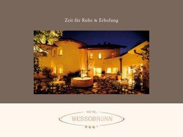 Zeit für Ruhe & Erholung - Hotel Wessobrunn