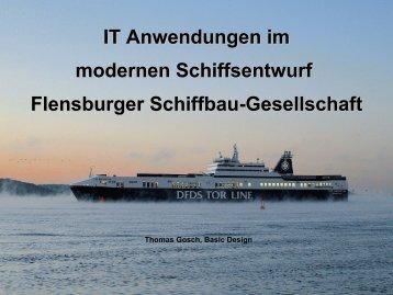 IT im modernen Schiffbau - DiWiSH