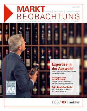 BeoBaCHTung - HSBC Trinkaus