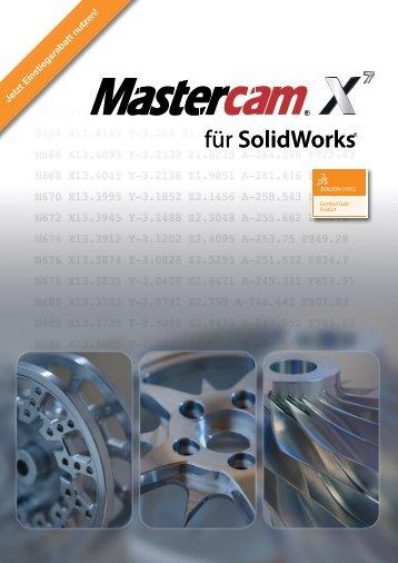 Mastercam X7 für SolidWorks