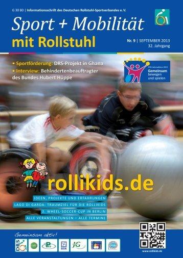 Ausgabe September 2013 zum downloaden als PDF - Rollikids