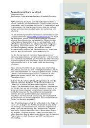Auslandspraktikum in Irland - Hochschule Fresenius
