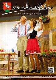 Das informative Monatsmagazin für Boniswil 11 / 2013 - dorfheftli