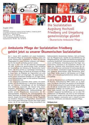 Die Sozialstation Augsburg Hochzoll Friedberg und Umgebung ...