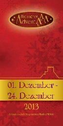 das aktuelle Faltblatt zum Hausacher Advent - Forum Hausach eV