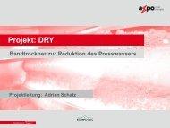 ERFA 2013 Projekt DRY - Axpo