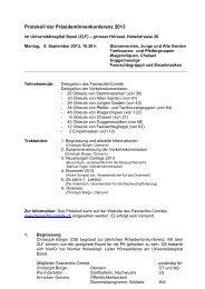 Protokoll 2013 - Basler Fasnachts Comité
