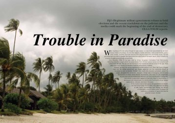 Trouble in Paradise - startts