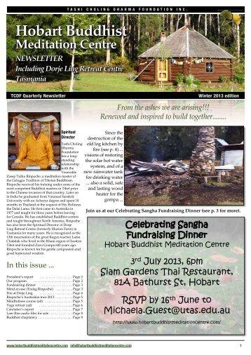 Winter 2013 - Dorje Ling Retreat Centre