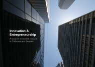 Innovation & Entrepreneurship: A study of innovative clusters ... - PIEp