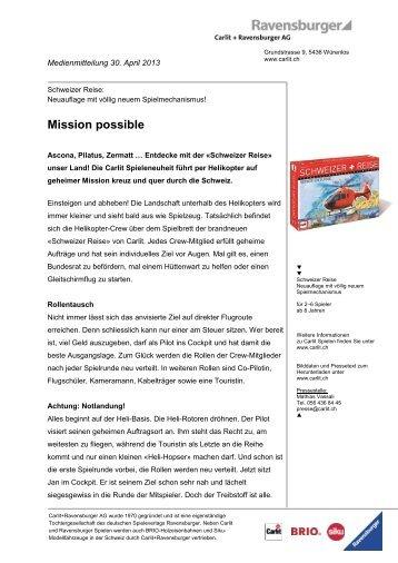 Schweizer Reise - Carlit
