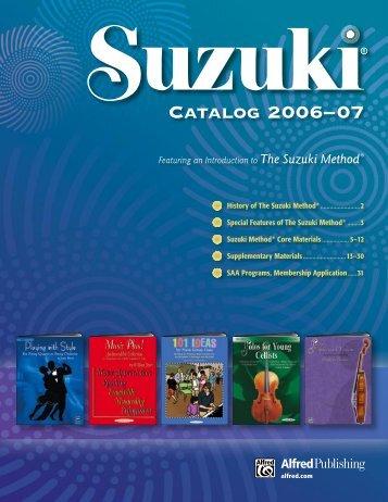 63401 Suzuki dd.indd - Alfred Music Publishing