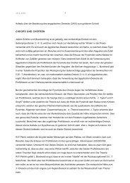 Aufsatz über die Beziehung des aegyptischen Dreiecks (3/4/5) zum ...