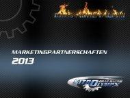 Flyer Sponsoring- und Marketingpartnerschaften 2013 - NitrOlympX