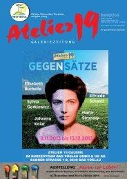 kunstzeitung Q4 2013 - Atelier 19