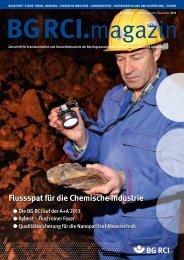 flussspat für die Chemische Industrie - Berufsgenossenschaft ...