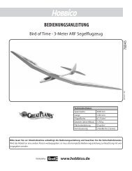 Download Anleitung DE (PDF) - Hobbico