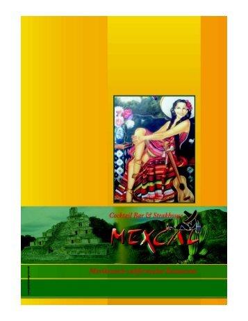 Speisekarte - Mexcal