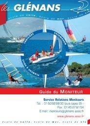 Guide du Moniteur - Les Glénans
