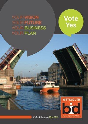 Vote Yes - Weymouth BID