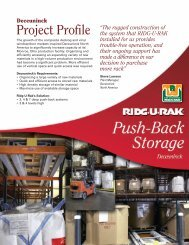 Deceuninck Project Profile - Ridge-U-Rak