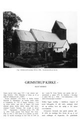 GRIMSTRUP KIRKE - Danmarks Kirker - Nationalmuseet