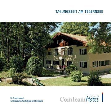 TAGUNGSZEIT AM TEGERNSEE - ComTeam AG