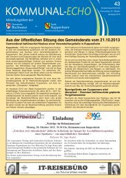2013-43 - Stadt Kuppenheim