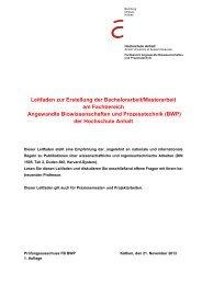 Leitfaden zur Erstellung der Bachelorarbeit/Masterarbeit im ...