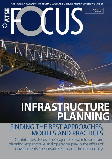INFRASTRUCTURE PLANNING - Australian Academy of ...