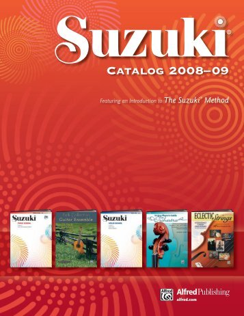 Catalog 2008–09 - Alfred Music Publishing