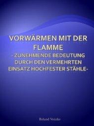 Vorwärmen mit der flamme - AAB GASE Rostock