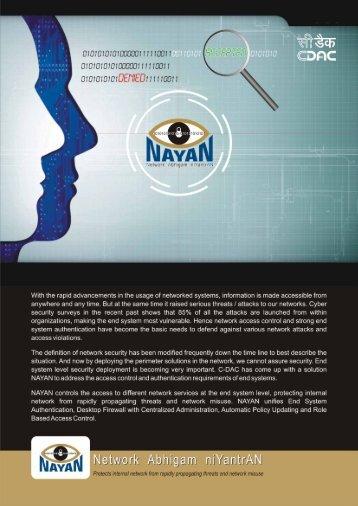 Nayan - C-DAC Hyderabad