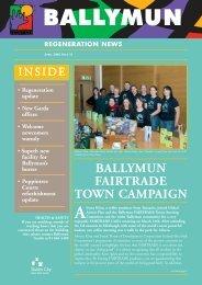 BALLYMUN FAIRTRADE TOWN CAMPAIGN - Ballymun Regeneration