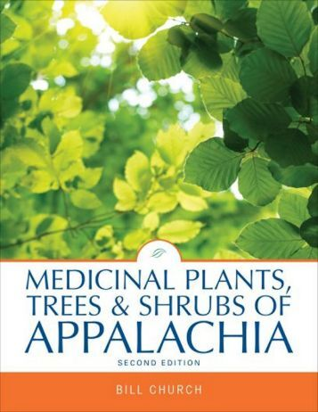 to see sample pages in Adobe pdf format - Appalachian Plants