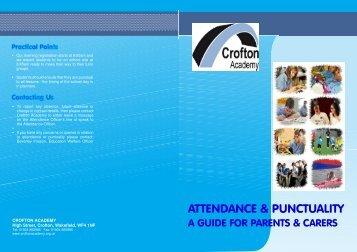 ATTENDANCE & PUNCTUALITY - Crofton Academy