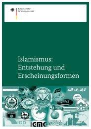 Islamismus: Entstehung und Erscheinungsformen - Bundesamt für ...