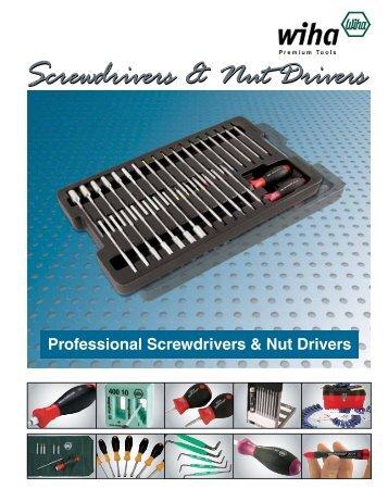 Screwdrivers & Nut Drivers - Wiha Tools Canada