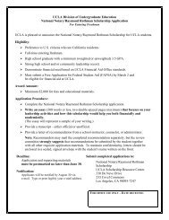 National Notary Foundation Scholarship - Division of Undergraduate ...