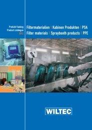 Katalog Kabinen Produkten - Wiltec