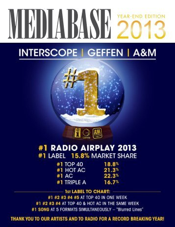 Here - Mediabase 24/7 Chart