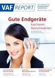 Gute Endgeräte - VAF - Bundesverband Telekommunikation eV