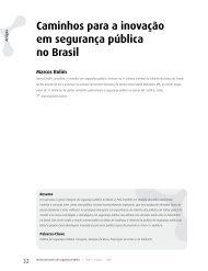 Caminhos para a inovação em segurança pública no Brasil - DHnet