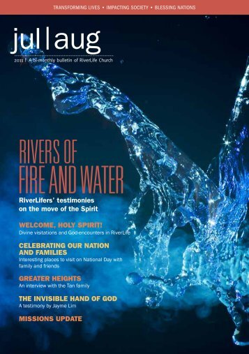 FIRE AND WATER - RiverLife Church